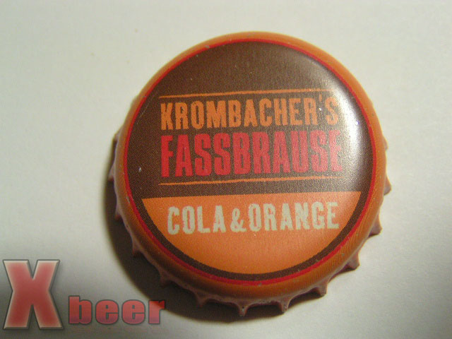 Krombacher Fassbrause Cola & Orange